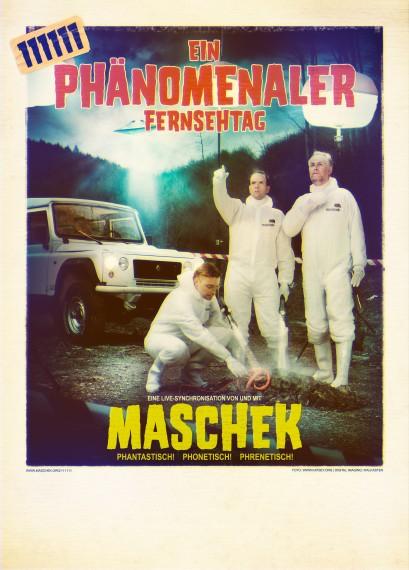 maschek 111111 poster mit typo rgb 4mp 409x570 111111   Ein phänomenaler Fernsehtag
